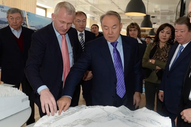 Назарбаеву презентовали проект Кок Жайляу