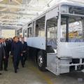 Бакытжан Сагинтаев посетил завод Daewoo Bus Kazakhstan