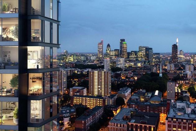 Цены нажилье вцентре Лондона достигли минимума с2014года