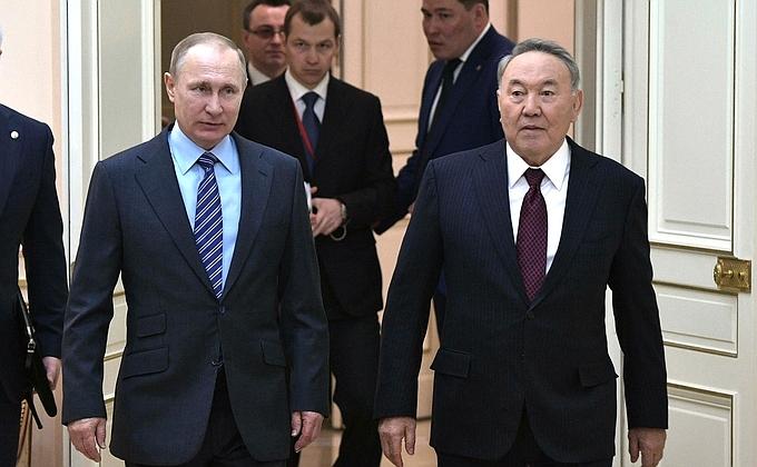 Путин отправился врабочую поездку постранам СНГ