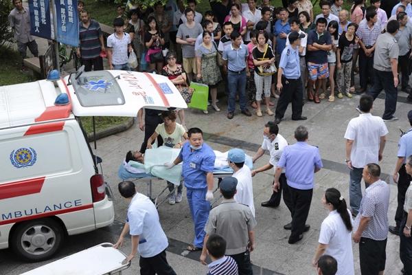 Число погибших при взрыве на заводе в Китае достигло 65 человек