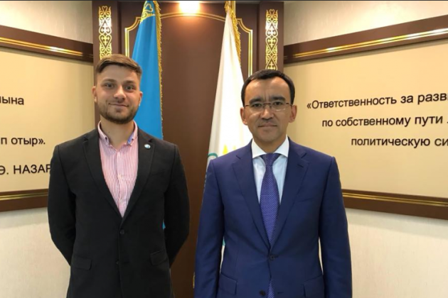 Назначен заместитель гендиректора холдинга «Нур-Медиа»