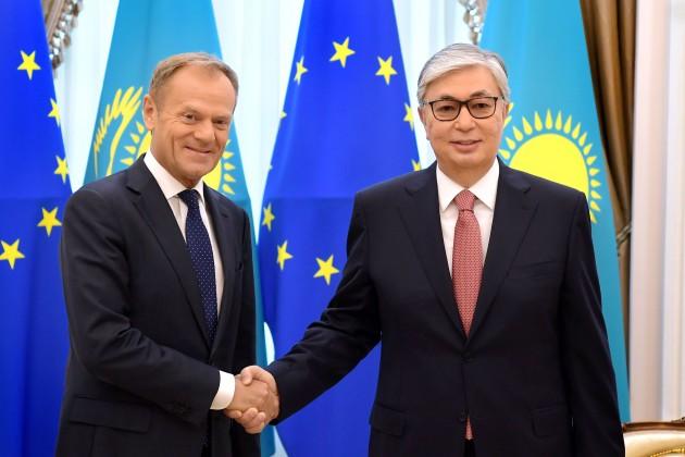 Дональд Туск: Казахстан для нас важный и стабильный партнер