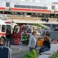 60 человек пострадали при столкновении поездов в США