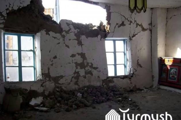 Более 280домов повреждены из-за землетрясения вКыргызстане