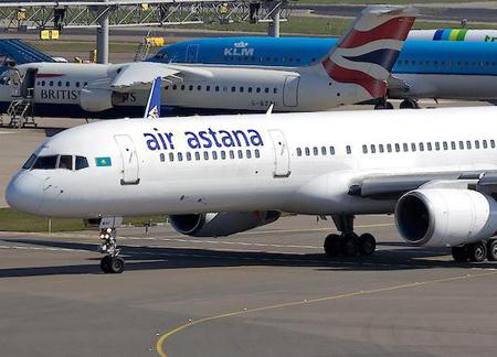 Эйр Астана будет летать в Гонконг 3 раза в неделю