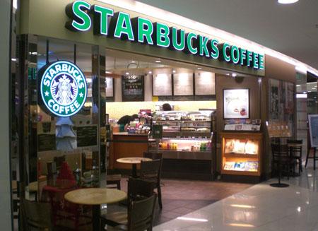 Starbucks впервые заплатила налоги