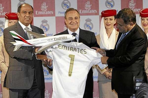 Контракт Emirates с «Реалом» входит в Топ-5 самых дорогостоящих в мире