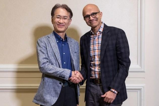 Microsoft и Sony будут сотрудничать в сфере видеоигр
