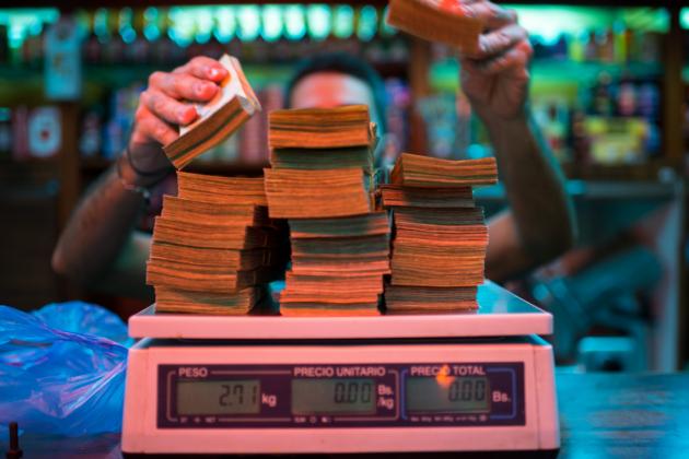 Инфляция вВенесуэле превысила 6000%