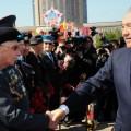 Назарбаев поздравил казахстанцев с Днем Победы