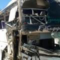 Под Алматы опрокинулся рейсовый автобус