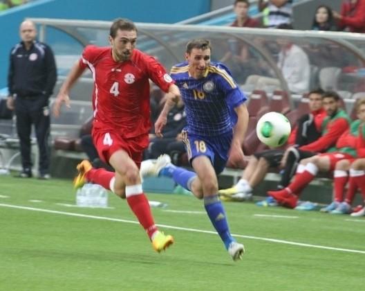 Сборная Казахстана выиграла у команды Грузии