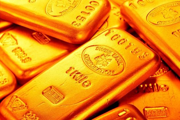 Ослабление доллара повысило цены на золото