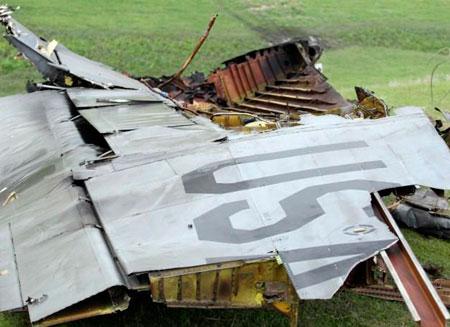 В Киргизии обнаружены тела погибших пилотов самолета США