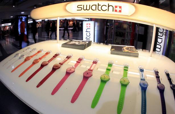 Продажи Swatch достигли трехлетнего рекорда