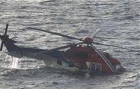 ВКаспийское море упал вертолет