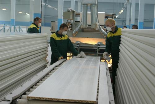 В РК идет строительство 16 домостроительных комбинатов