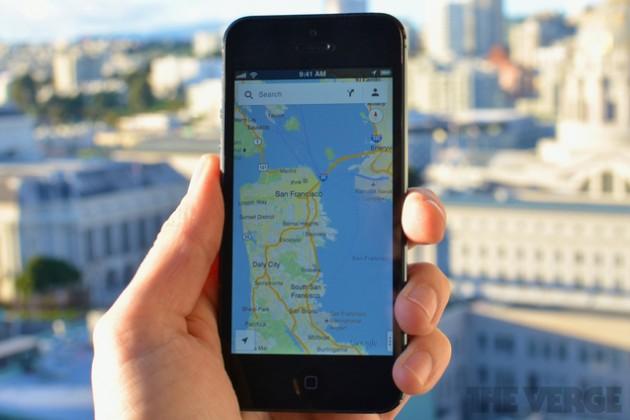 Запущена новая версия Google Maps для iPhone