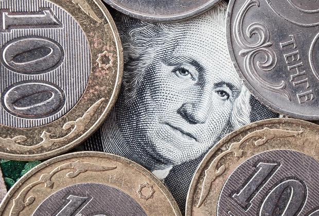 Как пара доллар— тенге закрыла торговую сессию?