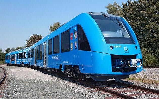 ВГермании представили поезд наводородном топливе