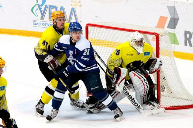 «Сарыарка» одержала пятую победу подряд в чемпионате ВХЛ
