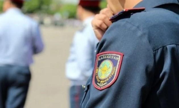 В районе Алмалинского РУВД в Алматы были слышны выстрелы