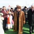 Нурсултан Назарбаев и Касым-Жомарт Токаев посетили этноаул