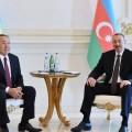 Нурсултан Назарбаев встретился сИльхамом Алиевым