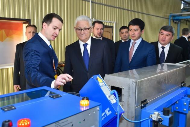 В СКО запустили завод по производству кабеля
