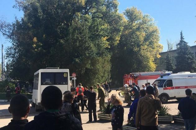 Возросло число жертв стрельбы вкерченском колледже