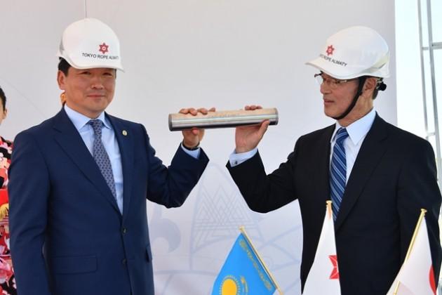 Tokyo Rope Manufacturing открывает завод вАлматы