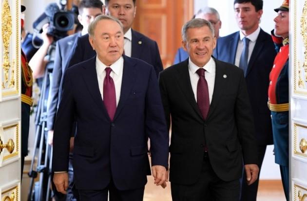 Главы Казахстана иТатарстана обсудили направления сотрудничества