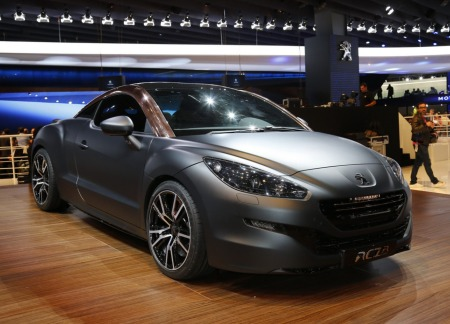 Серийный Peugeot RCZ R покажут в Гудвуде