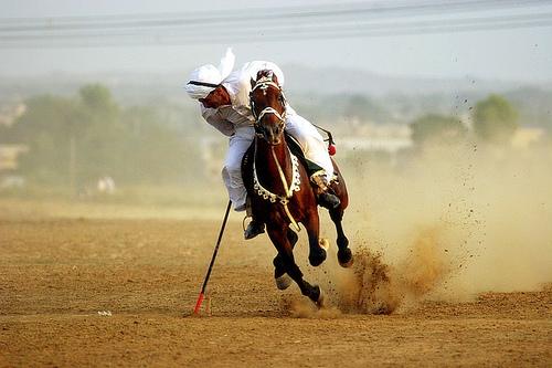 Казахстанцы завоевали серебро в конной игре