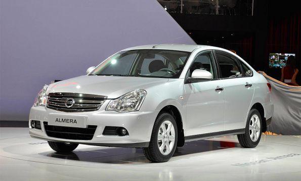 В России начали собирать Nissan Almera