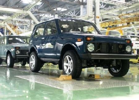 Lada 4x4 будут красить по-новому