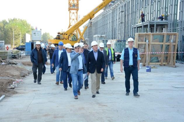 Строительство железнодорожного вокзала в Астане завершат в 2017 году