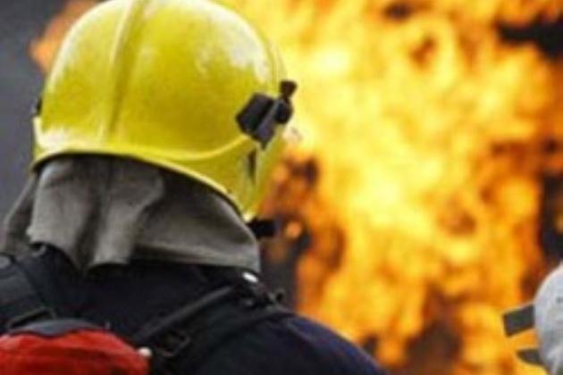 В Астане в доме министерств произошел пожар