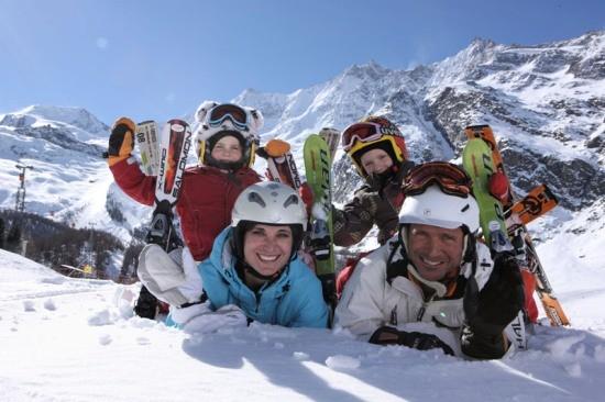 Горнолыжный сезон в Швейцарии