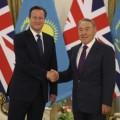 Назарбаев и Кэмерон обсудили вопросы сотрудничества
