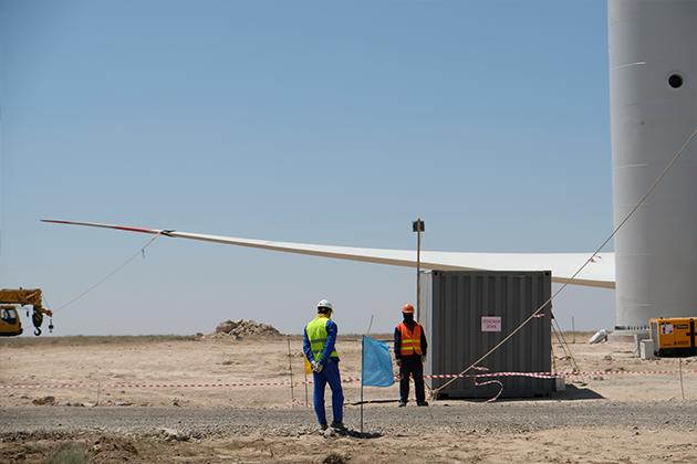 В Жамбылской области построят ветряную станцию за $130 млн