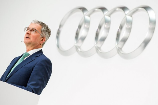 ВГермании задержали гендиректора Audi