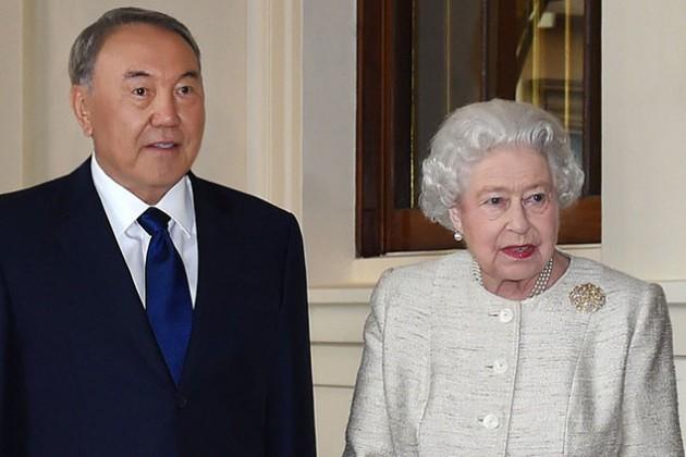 Нурсултан Назарбаев встретился с Тони Блэром и Елизаветой II