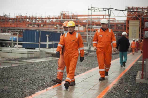 Планы подобыче нефти наКашагане снижены до250тысяч баррелей всутки