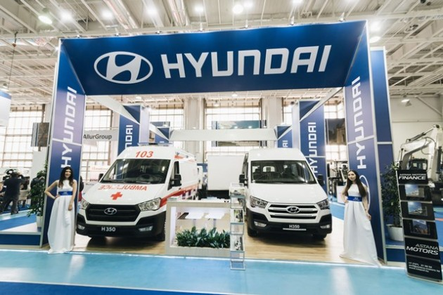 Hyundai Com Trans Kazakhstan принимает участие ввыставке СТЕСА-2018