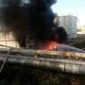 Один человек погиб при пожаре нанефтебазе вШымкенте