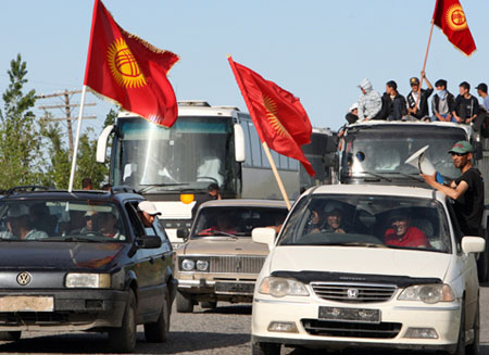 В Кыргызстане разблокировали трассу Бишкек-Ош