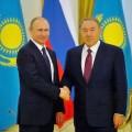 Нурсултан Назарбаев иВладимир Путин обсудили ряд вопросов