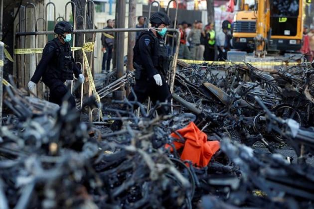 ВИндонезии произошел четвертый взрыв задва дня